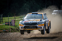 3rd July 2021, Liepaja, Latvia;  09 FERNANDEZ Emilio (CHL), GARCIA Ruben (ARG), TOKSPORT WRT, ¦koda Fabia Evo during the 2021 FIA ERC Rally Liepaja, 2nd round of the 2021 FIA European Rally Championship