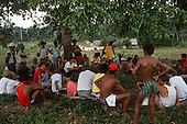 Xapuri, Acre State, Brazil. Meeting of rubber tappers.