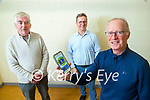 The Lions club members who set up a gofundme page to raise funds as an alternative to their street collection, from left: Finbarr O'Connell, Roger Harty and Teddy Renolds.