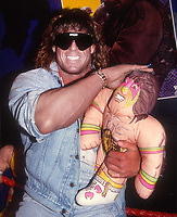 Ultimate Warrior (James Brian Hellwig) 1990<br /> Photo By John Barrett/PHOTOlink.net