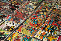 BNPS.co.uk (01202 558833)<br /> Pic: ZacharyCulpin/BNPS<br /> <br /> The collection includes Superman, Batman, X-men and Iron Man comics<br /> <br /> A huge comic collection immaculately accumulated over 60 years by a late fanatic has been found by his family. <br /> <br /> The vast archive of over 8,000 comics was amassed by bachelor Peter James who kept them in pristine condition at his home.<br /> <br /> He was introduced to comics by his mother as a young boy as she thought it would encourage him to read.<br /> <br /> He started collecting at the age of 10 and kept the magazines neatly stacked in boxes.