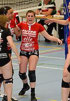 Volley Team Brugge : Silke Decuyper <br /> foto VDB / BART VANDENBROUCKE
