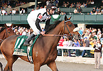 25 October 2009 The Rood and RIddle Dowager (Listed).Black Mamba and Robby Albarado return after winning the 18th running of the Dowager.
