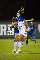 STANFORD, CA - NOVEMBER 22: Stanford, CA - November 22, 2019: Kennedy Wesley at Laird Q. Cagan Stadium. The Stanford Cardinal defeated Hofstra 4-0 in the second round of the NCAA tournament. during a game between Hofstra and Stanford Soccer W at Laird Q. Cagan on November 22, 2019 in Stanford, California.