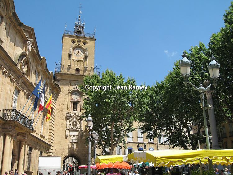 Clock tower, Aix-en-Provence