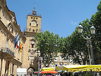 Clock tower, Aix-en-Provence