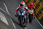 Graham English races the Macau Motorcycle Grand Prix during the 61st Macau Grand Prix on November 15, 2014 at Macau street circuit in Macau, China. Photo by Aitor Alcalde / Power Sport Images