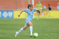 Heather O'Reilly (9) of Sky Blue FC. FC Gold Pride defeated Sky Blue FC 1-0 during a Women's Professional Soccer (WPS) match at Yurcak Field in Piscataway, NJ, on May 1, 2010.