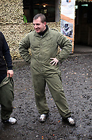 Pictured: Brendan Rodgers. Tuesday 25 January 2011<br /> Re: Swansea City FC footballers and staff have spend a morning at Teamforce Paintball in Llangyfelach near Swansea south Wales.