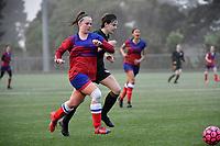 Football CSW Girls Premier 2 Final - Newlands College v Wellington High School at Petone Memorial Park, Lower Hutt, New Zealand on Wednesday 23 September 2020. <br /> Photo by Masanori Udagawa. <br /> www.photowellington.photoshelter.com