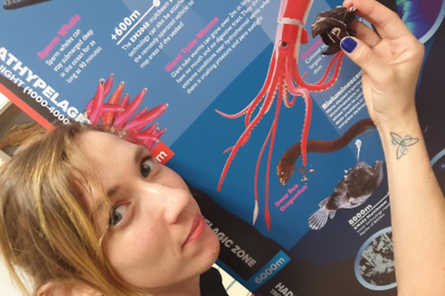 Galway Atlantaquaria's education officer Anna Quinn gets up close with the humble but remarkable cephalopod