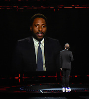 "HOLLYWOOD, CA - DECEMBER 10: John David Washington presents the award for Best Narrative on ""The Game Awards 2020"" in Hollywood, California on December 10, 2020. (Photo by Frank Micelotta/PictureGroup)"