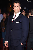 """Henry Cavill<br /> at the """"Batman vs Superman: Dawn of Justice"""" premiere, Odeon Leicester Square, London<br /> <br /> <br /> ©Ash Knotek  D3101 22/03/2016"""