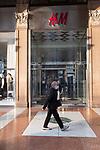 Emergenza Coronavirius Lombardia Zona Rossa negozi chiusi per effetto delle restrizioni anti contagio cronaca Milano 06/11/2020 Coronavirus Emergencyshops closed due to the anti-contagion rules chronicle Milan 06/11/2020