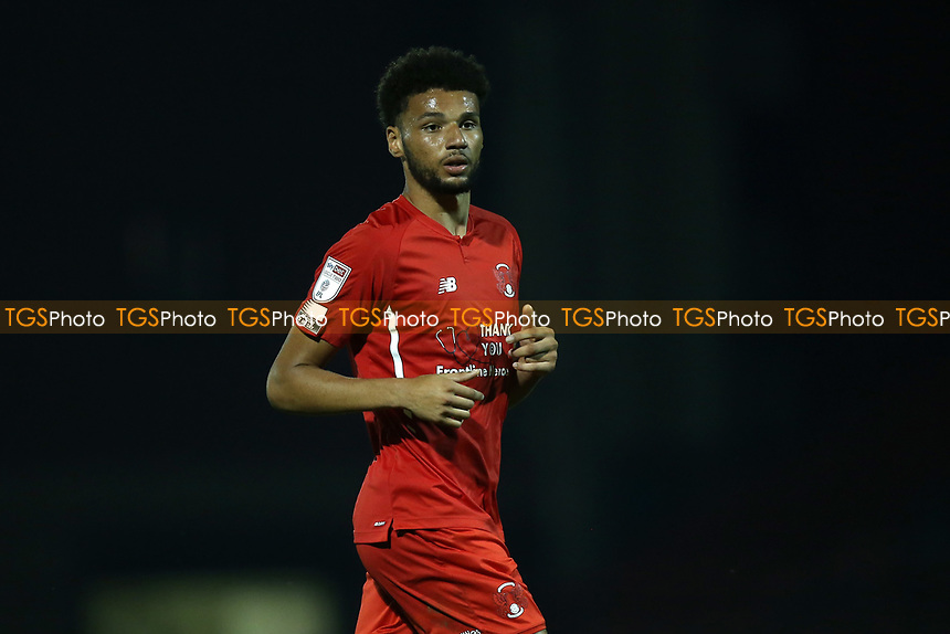 Lee Angol of Leyton Orient during Leyton Orient vs Plymouth Argyle, Caraboa Cup Football at The Breyer Group Stadium on 15th September 2020