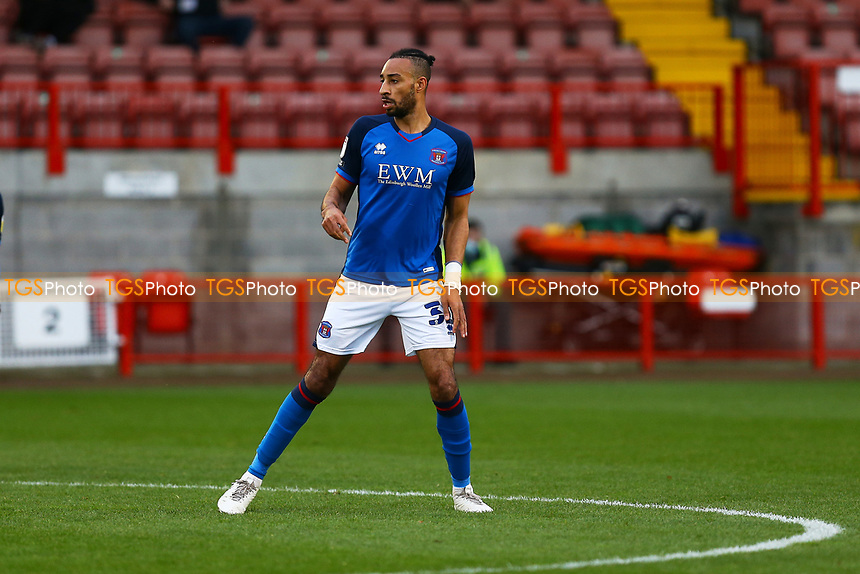 Rhys Bennett of Carlisle United during Crawley Town vs Carlisle United, Sky Bet EFL League 2 Football at Broadfield Stadium on 21st November 2020