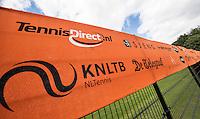 Hilversum, Netherlands, August 8, 2016, National Junior Championships, NJK, Banners<br /> Photo: Tennisimages/Henk Koster