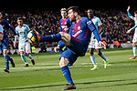 Lionel Messi of FC Barcelona in action during the La Liga 2017-18 match between FC Barcelona and RC Celta de Vigo at Camp Nou Stadium on 02 December 2017 in Barcelona, Spain. Photo by Vicens Gimenez / Power Sport Images