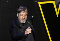Mark Hamill attends the STAR WARS: 'The Force Awakens' EUROPEAN PREMIERE at Odeon, Empire & Vue Cinemas, Leicester Square, England on 16 December 2015. Photo by David Horn / PRiME Media Images