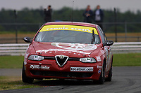 Round 4 of the 2002 British Touring Car Championship. #58 Kelvin Burt (GBR). Gary Ayles Motorsport. Alfa Romeo 156.