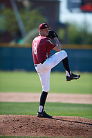 Skyler Loverink (8) of Chandler, Arizona during the Baseball Factory All-America Pre-Season Tournament, powered by Under Armour, on January 13, 2018 at Sloan Park Complex in Mesa, Arizona.  (Mike Janes/Four Seam Images)