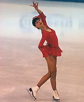 Claudia Kristofics-Binder of Austria competes at the 1978 World Figure Skating Championships in Ottawa, Canada. Photo copyright Scott Grant.