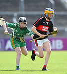 Mike Bogenberger of Mountshannon/Lackyle  in action against Kilnamona during their Schools Division 3 final at Cusack Park. Photograph by John Kelly