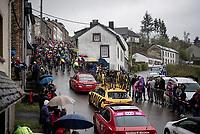 peloton up the Côte de Saint-Roch<br /> <br /> 105th Liège-Bastogne-Liège 2019 (1.UWT)<br /> One day race from Liège to Liège (256km)<br /> <br /> ©kramon