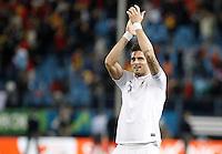 France's national team Olivier Giroud celebrates during match. October 16, 2012. (ALTERPHOTOS/Alvaro Hernandez) /NORTEPhoto
