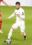 Real Madrid's Nacho Fernandez during UEFA Champions League Quarter-finals 1st leg match. April 6,2021.(ALTERPHOTOS/Acero)