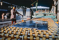 Industria de corte de granito. Croata. Ceara. 1998. Foto de Juca Martins.
