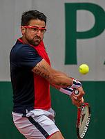 Paris, France, 23 june, 2016, Tennis, Roland Garros, Janko Tipsarevic (KAZ)<br /> Photo: Henk Koster/tennisimages.com