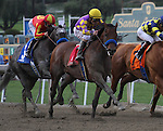 Candy Boy with Gary Stevens aboard wins the Grade 2 Robert B. Lewis Stakes at Santa Anita Park in Arcadia, California on February 8, 2014. (Zoe Metz/ Eclipse Sportswire)