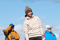 1st October 2021; Kingsbarns Golf Links, Fife, Scotland; European Tour, Alfred Dunhill Links Championship, Second round; Tommy Fleetwood of England watches his ball after playing from the rough on the fifth hole at Kingsbarns Golf Links