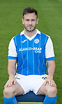 St Johnstone FC Season 2017-18 Photocall<br />Keith Watson<br />Picture by Graeme Hart.<br />Copyright Perthshire Picture Agency<br />Tel: 01738 623350  Mobile: 07990 594431