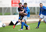 St Johnstone v Inverness Caledonian Thistle...05.10.13      SPFL<br /> Nick Ross and Gary McDonald<br /> Picture by Graeme Hart.<br /> Copyright Perthshire Picture Agency<br /> Tel: 01738 623350  Mobile: 07990 594431