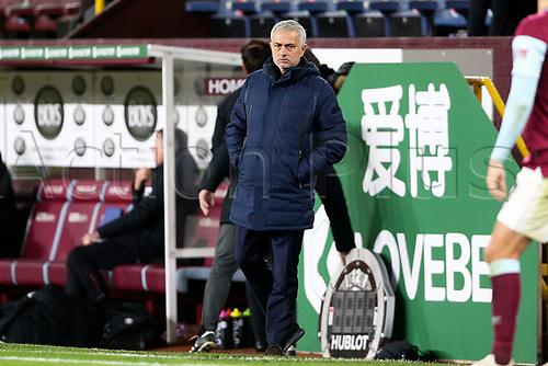 26th October 2020, Turf Moor, Burnley UK; EPL Premier League football, Burnley v Tottenham Hotspur; Trainer Tottenham Hotspur Manager Jose Mourinho