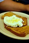 Wellboro Diner interior.Eggs and toast.