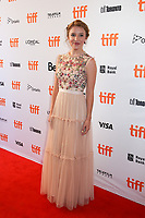 SAMANTHA ISLER - RED CARPET OF THE FILM 'MOLLY'S GAME' - 42ND TORONTO INTERNATIONAL FILM FESTIVAL 2017 . TORONTO, CANADA, 09/09/2017. # FESTIVAL DU FILM DE TORONTO - RED CARPET 'MOLLY'S GAME'