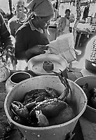 la pesca tradizionale in Mozambico.