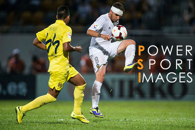 Cristian Portugues of Valencia CF in action during LFP World Challenge 2014 between Valencia CF vs Villarreal CF on May 28, 2014 at the Mongkok Stadium in Hong Kong, China. Photo by Victor Fraile / Power Sport Images