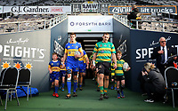 The Taieri and Green Island sides take the field for the Dunedin Premier club rugby final between Green Island and Taieri played at Forsyth Barr Stadium in Dunedin, on Saturday 31st July, 2021. © John Caswell/Caswell Images