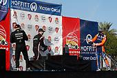#5 Pato O'Ward, Arrow McLaren SP Chevrolet, #1 Josef Newgarden, Team Penske Chevrolet, #9 Scott Dixon, Chip Ganassi Racing Honda, podium, champagne