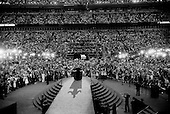 Denver, Colorado.August 28, 2008..Senator Joe Biden in front of 75,000 people at the Democratic National Convention during the closing night in Denver's Mile High Stadium.