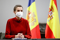 MAR 25 Spanish Royals visit Andorra