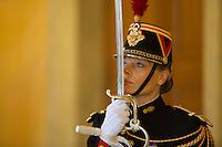 A French republicain guards in the National Assembly in Paris, France, december 13, 2016. # BERNARD CAZENEUVE PRONONCE SON DISCOURS DE POLITIQUE GENERALE