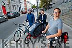 Kerry Cycling campaign members, John Jones, Anlun Dunne and Keith Phelan.