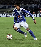 BOGOTA - COLOMBIA - 19-02-2013: Rafael Robayo, mediocampista de Millonarios. Rafael Robayo, midfielder of Millonarios. (Photo: VizzorImage / Luis Ramirez / Staff)..
