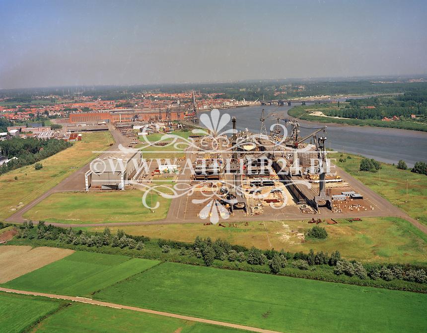 1990.    Scheepswerf Boelwerf in Temse.