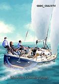 Barry, MASCULIN, MÄNNLICH, MASCULINO,sailing,boat, paintings+++++,GBBCCDA1074,#m#, EVERYDAY